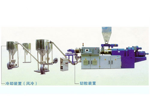 PVC Extrrding Granulation Unit Production Line